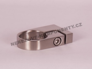 Objímka kulatého sloupku pr. 42,4 mm pro boční kotvení