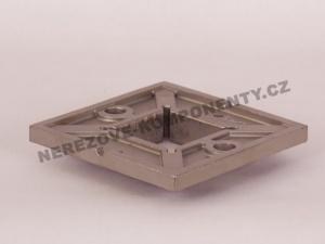 Horní kotvení - hranatý sloupek zábradlí 40x40 mm