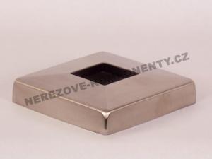 Krytka horního kotvení - hranatý sloupek zábradlí 40x40 mm