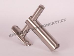 Držák madla mimo osu - sloupek 42,4 mm (stavitelný)