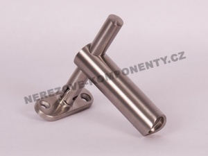 Držák madla mimo osu - sloupek 42,4 mm (stavitelný HM)