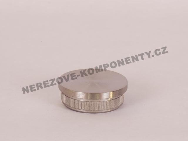 Koncovka nerezového madla 42,4 mm - rovná