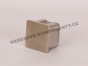 Koncovka nerezového madla 40x40 mm - rovná