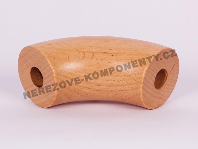 Spojka dřevěného madla 45 mm - 76 st. - buk