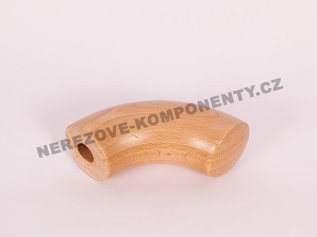 Koncovka dřevěného madla 45 mm nástupní - buk