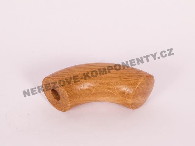 Spojka dřevěného madla 45 mm nástupní - dub