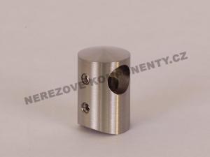 Držák nerezového prutu 12 mm - průběžný