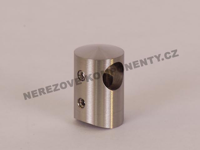 Držák nerezového prutu 12 mm - průběžný KS