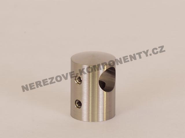 Držák nerezového prutu 12 mm - průběžný HS