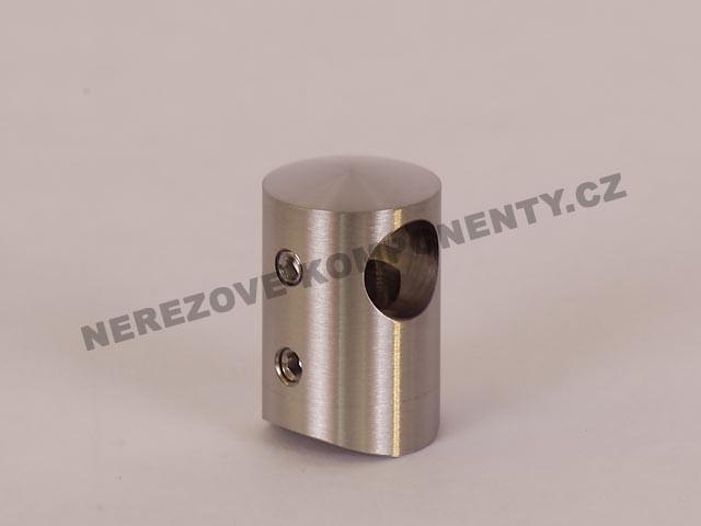 Držák nerezového prutu 12 mm - krajní pravý KS