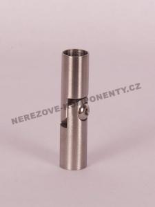 Spojka nerezového prutu 12 mm - kloubová