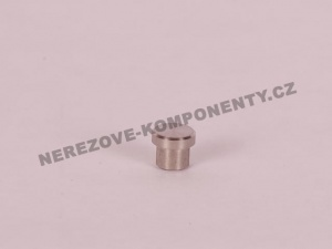 Koncovka nerezového prutu 12 mm - záslepka