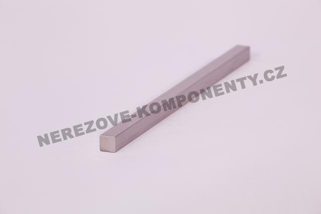 Nerezový prut 10x10 mm - 1 m