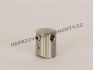 Držák nerezového lanka 5 mm - průběžný