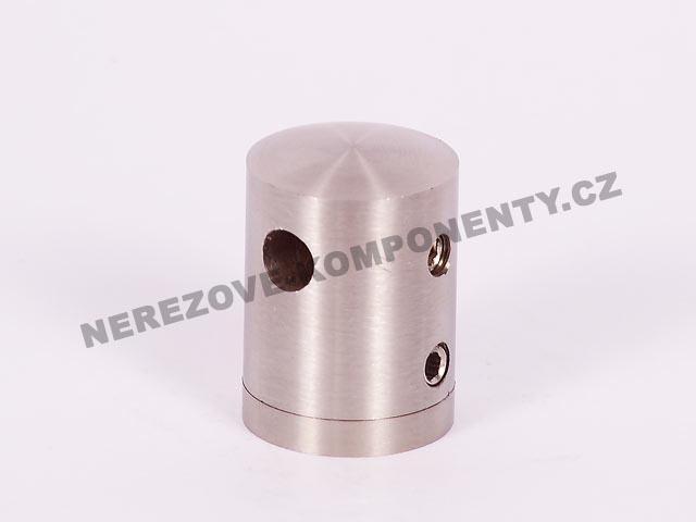 Držák nerezového lanka 5 mm - průběžný HS