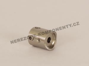 Držák nerezového lanka 5 mm - průběžný KS