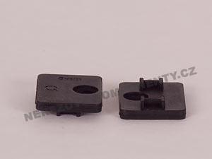 Těsnění hranatého držáku skla 8 mm - model 23