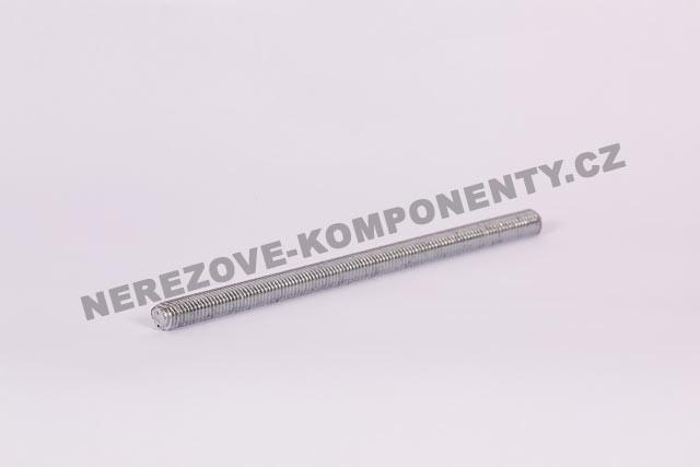 Zinkovaná závitová tyč M10 - 17 cm