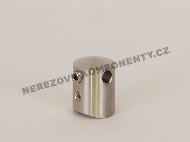 Držák nerezového lanka 3 mm - průběžný KS