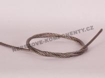 Nerezové lanko 3 mm