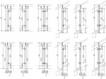 Nerezové zábradlí - sloupek 42,4 mm - horní - sklo